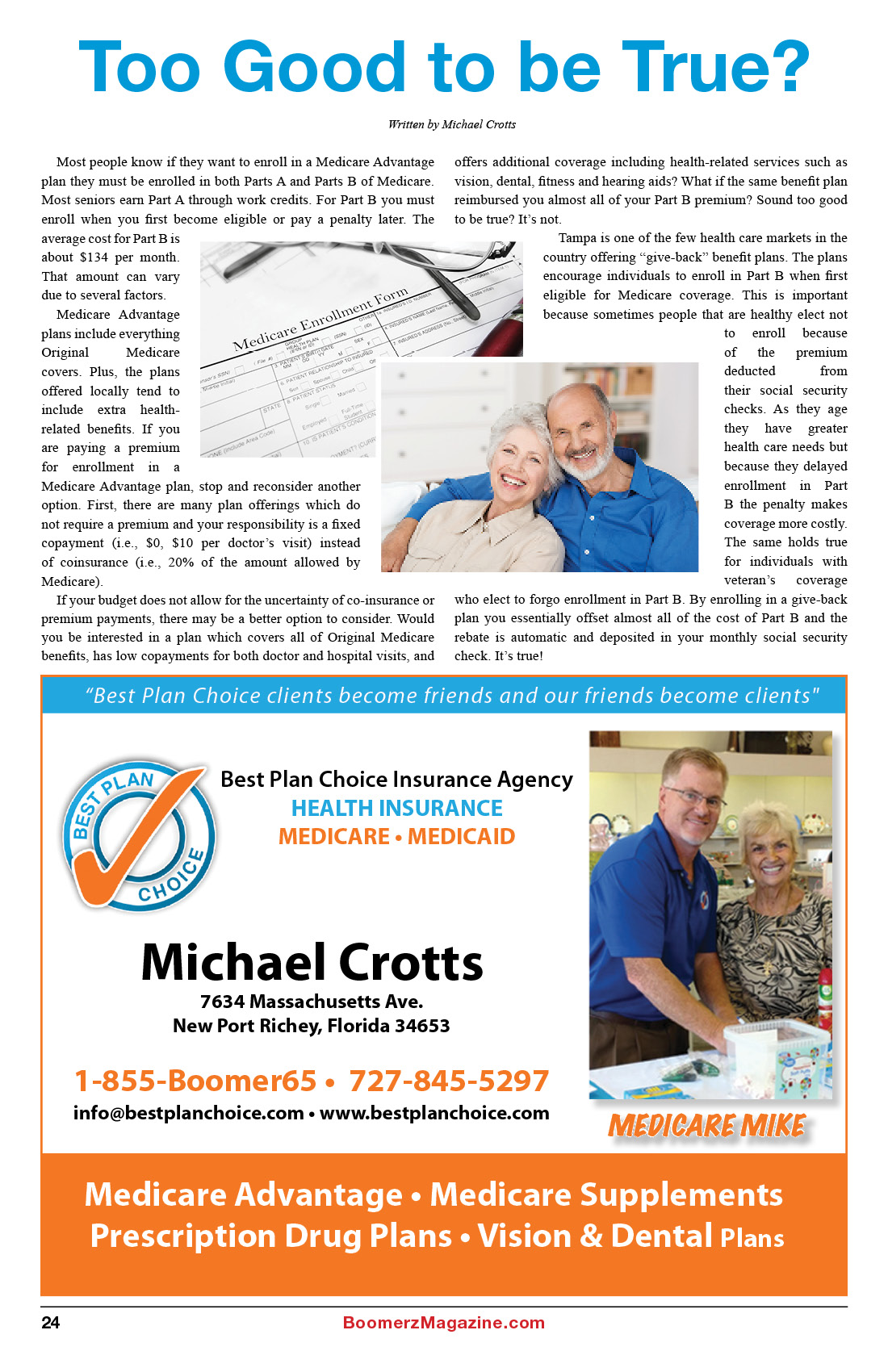 2018 October Boomerz Magazine Page 24 Add from Best-Plan-Choice-Insurance-Agency