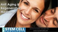 Get Regenerative Medicine for anti aging