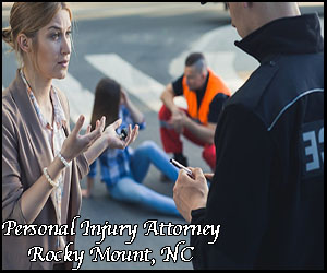 personal injury legal assistance in Rocky Mount