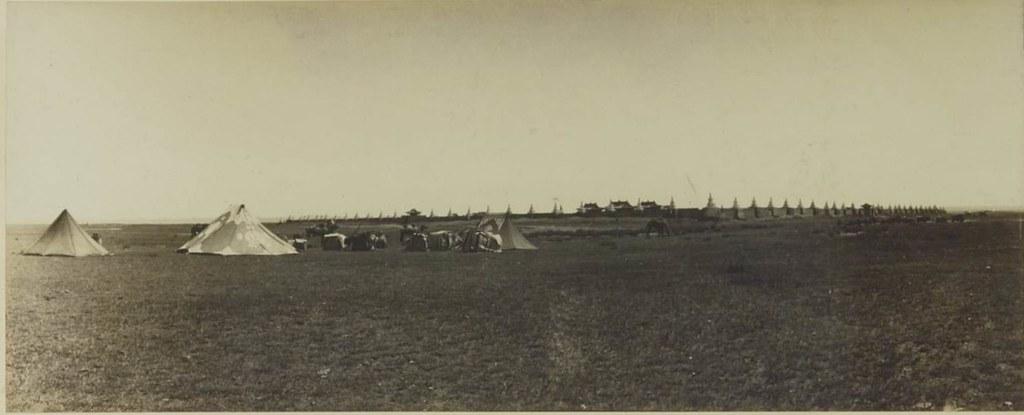 19. Наш лагерь возле монастыря Эрден Дзоу (Каракорум), 4 июля