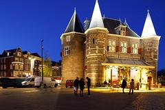 Nieuwmarkt Amsterdam, a late afternoon in December