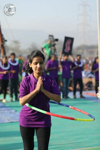 Devotees of indoor games seeking blessings
