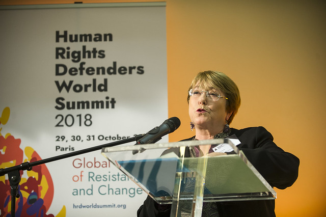 Human Rights Defenders World Summit 2018. Day 1 (29/Oct/2018)