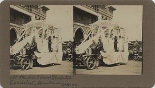 Decorated float at the Children's Hospital Carnival, Brisbane, 1922