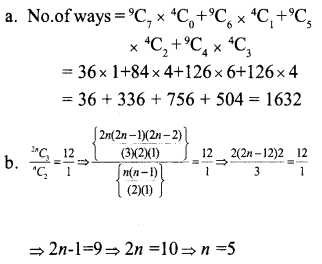 Plus One Maths Model Question Papers Paper 3A5
