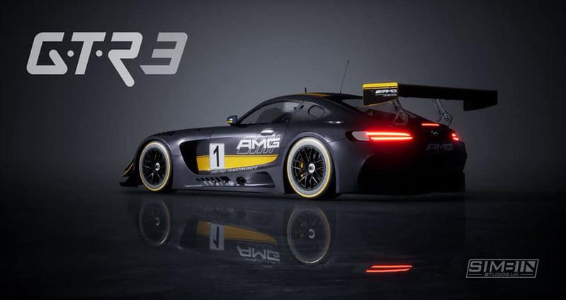 GTR3 Mercedes AMG GT3