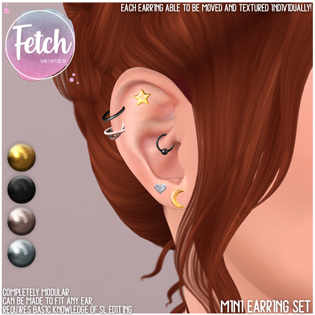 [Fetch] Mini Earrings @ Fifty Linden Friday