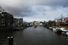 Amstel just before the rain