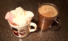 What's Your Favourite, Hot Chocolate Or Milky Coffee???