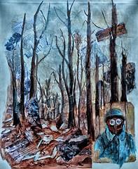 Forêt dévastée