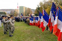 Commémorations du 11 novembre, Belfort, 11 Nov 2018