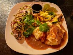 Seared Albacore Tuna, The Rod 'n Reel Restaurant and Bar, Gold Beach, Oregon