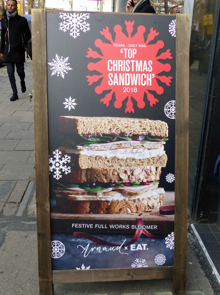 top christmas sandwich