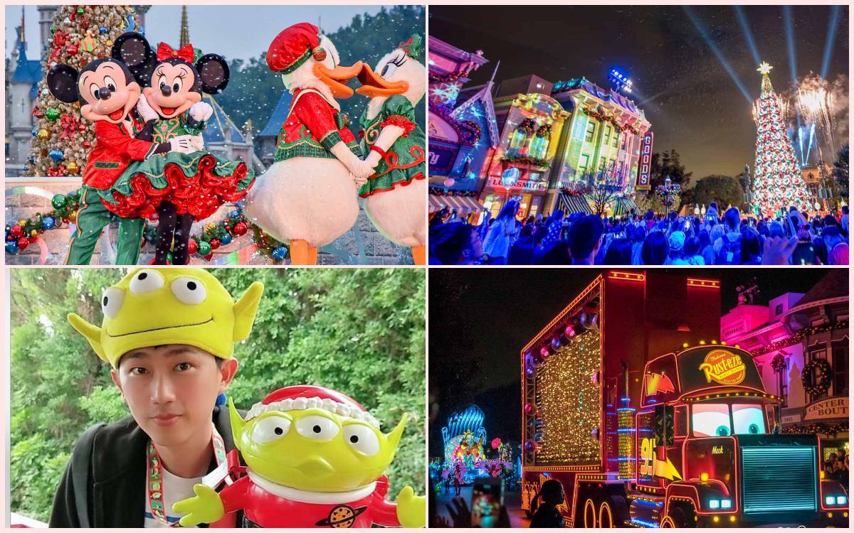 2019香港迪士尼樂園-聖誕節首頁圖