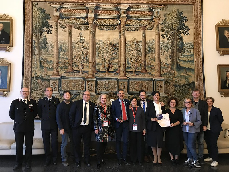 2018 Ceremony for Open Monuments initiative, Italy