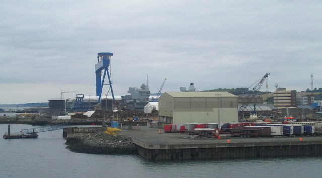 Aircraft Carrier, Rosyth Dockyard