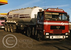 Mark Schofield @ JB Schofield posted a photo:Some of you may have noticed that, unfortunately, owing to the fact that a certain person who sells truck photos on eBay commercially has been lifting my images from this album and selling them I have had to remove 2300 photos that didn't have a watermark. I have now run around 1700 through Lightroom and added a watermark with the intention of bulk uploading them again. Rather than watermark the existing (hidden) files in Flickr one at a time it will be easier to do it this way. I definitely won't be adding individual tags with the make and model of each vehicle I will just add generic transport tags. Each photo is named after the vehicle and reg in any case. For anyone new to these images there is a chapter and verse explanation below. It is staggering how many times I get asked questions that a quick scan would answer or just as likely I can't possibly answer – I didn't take them, but, just to clarify-I do own the copyright- and I do pursue copyright theft. This is a collection of scanned prints from a collection of photographs taken by the late Jim Taylor A number of years ago I was offered a large number of photographs taken by Jim Taylor, a transport photographer based in Huddersfield. The collection, 30,000 prints, 20,000 negatives – and copyright! – had been offered to me and one of the national transport magazines previously by a friend of Jim's, on behalf of Jim's wife. I initially turned them down, already having over 30,000 of my own prints filed away and taking space up. Several months later the prints were still for sale – at what was, apparently, the going rate. It was a lot of money and I deliberated for quite a while before deciding to buy them. I did however buy them directly from Jim's wife and she delivered them personally – just to quash the occasional rumour from people who can't mind their own business. Although some prints were sold elsewhere, particularly the popular big fleet stuff, I should have 