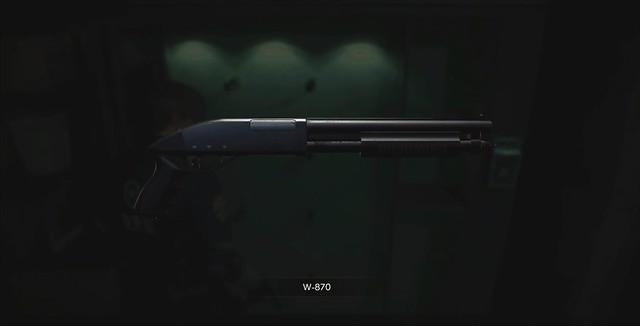 Resident Evil 2 Remake - Shotgun