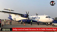 Indigo received bomb threatens for its Delhi-Mumbai flight