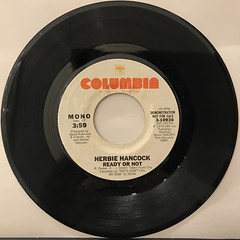 HERBIE HANCOCK:READY OR NOT(RECORD SIDE-B)
