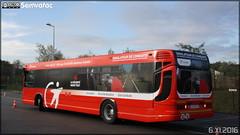 Heuliez Bus GX 317 – Transdev Île-de-France – Pôle Île-de-France Ouest ex 5010 Montesson Les Rabaux, Bus Simulateur de Conduite - Photo of Théméricourt