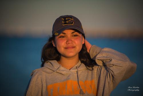 Caela at the Beach