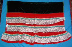 Purepecha Apron Michoacan Mexico Textiles