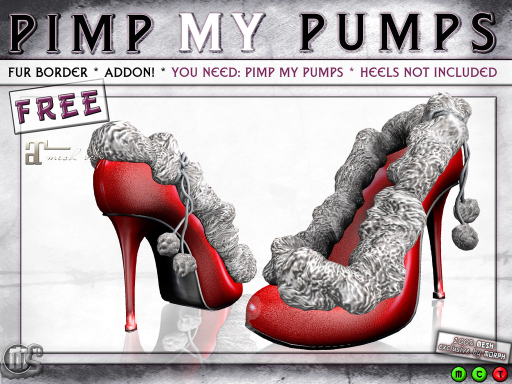 0o FREE PimpMyPumps ADDON: FUR BORDER