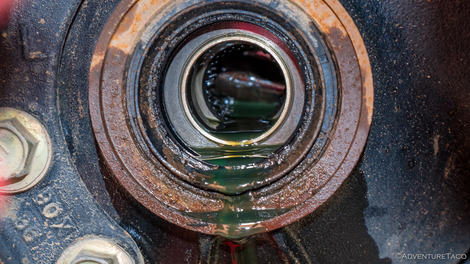 gear oil in toyota tacoma front diff