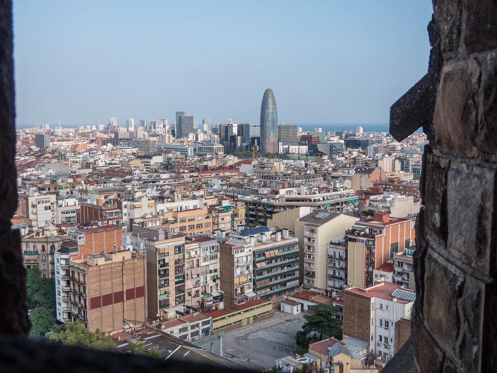 Barcelone, depuis la tour de la Nativité... 46490639812_02eea59789_b