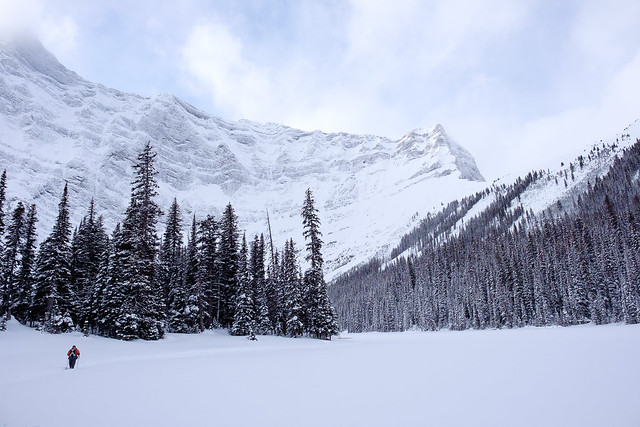 Snowshoeing - Rawson Lake - Jan 2019-13