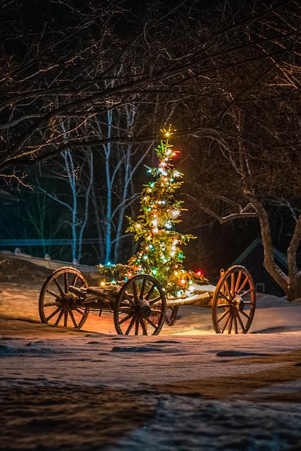 Christmas Wagon, Nikon D750, Tamron SP 35mm f/1.8 VC