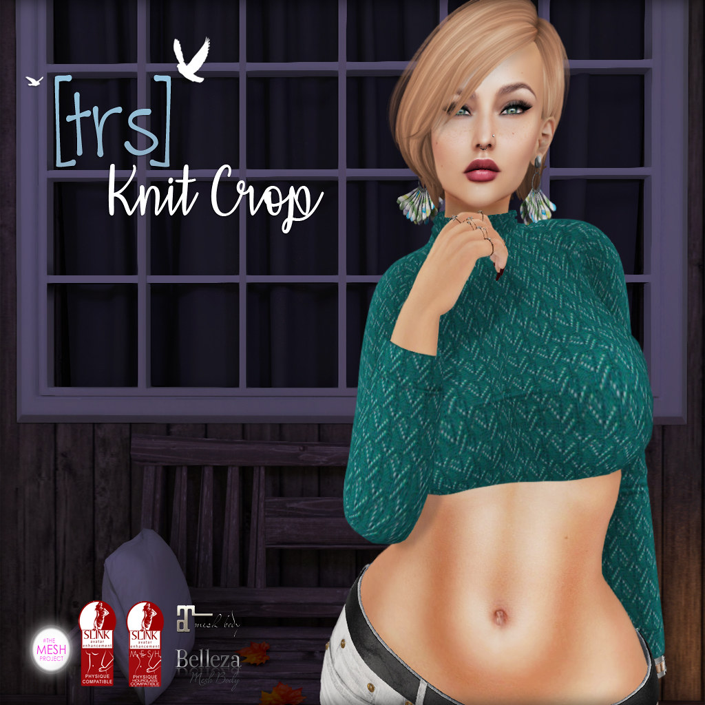 [trs] Knit Crop