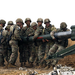 82nd Airborne Division conducts artillery heavy drop