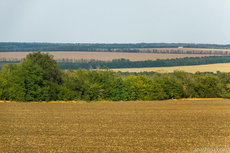 Распаханные поля, Ростовская область