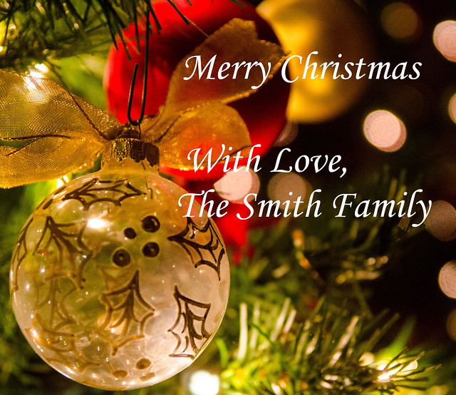 With love from family