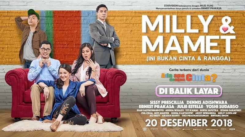 Poster Milly dan Mamet