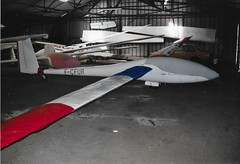 F-CFUR Schempp-Hirth Nimbus 3 glider - Photo of Saint-Méard-de-Gurçon