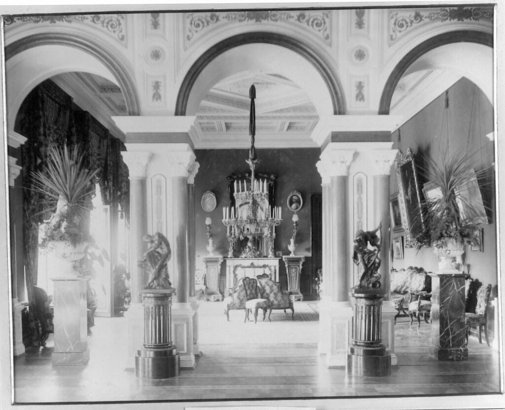 Усадьба «Гостилицы». Интерьеры дворца (5)