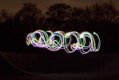 Multi colour swirl