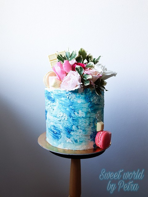 Blue Lagoon Cake from Petra Pankretic of Sweet World by Petra