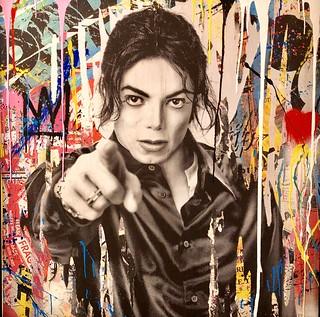 Michael Jackson, 2014, Mr. Brainwash