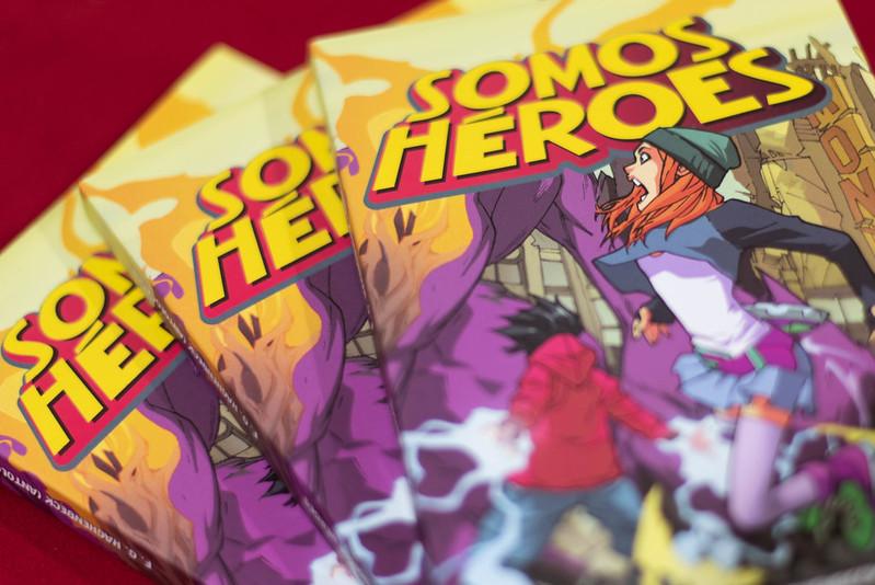"""Presentación de Libro """"Somos héroes"""""""