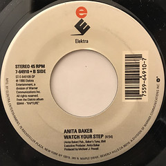 ANITA BAKER:FAIRY TALES(LABEL SIDE-B)