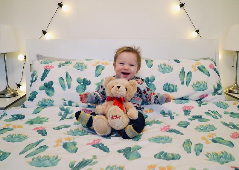 Hamleys Christmas Bear