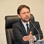 Coletiva do Presidente da Câmara Legislativa Deputado Joe Valle. Foto: Carlos Santos