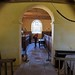 014-20180927_Little Washbourne Church-Gloucestershire-view from Sanctuary through Chancel Arch and down Nave to W end of Church