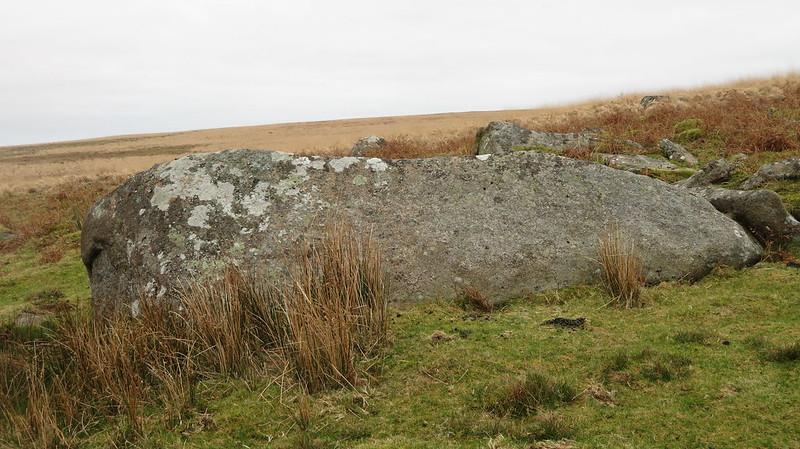 Little Hen Tor lower boulder