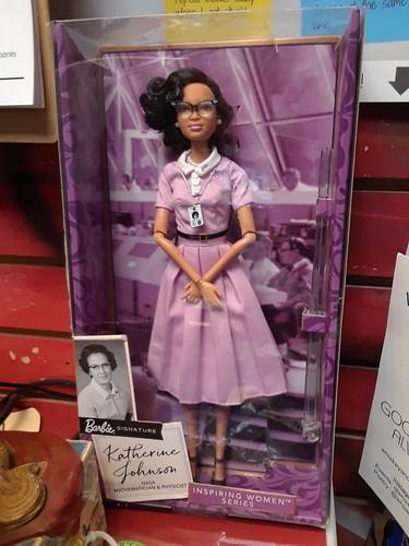 Katherine Johnson Barbie Doll