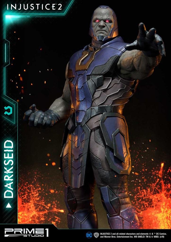 君臨一切的霸者氣息!! Prime 1 Studio《超級英雄:武力對決2》達克賽德 ダークサイド PMDCIJ-05 1/4 比例全身雕像作品 普通版/EX版